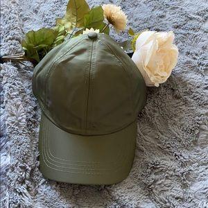 Francesca's Olive Green Cap